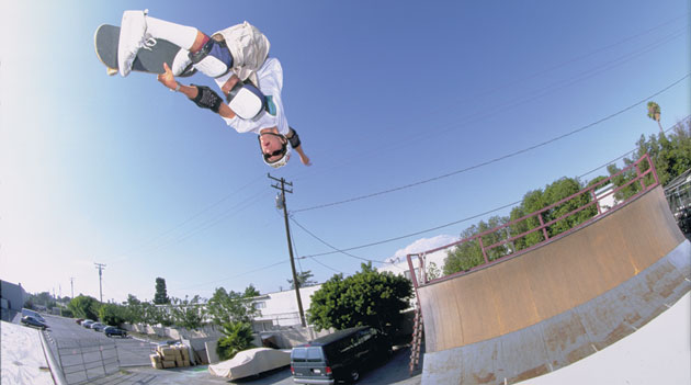 Bob Burnquist - Switch Backside Air, 1996