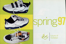 éS Spring Footwear, April 1997