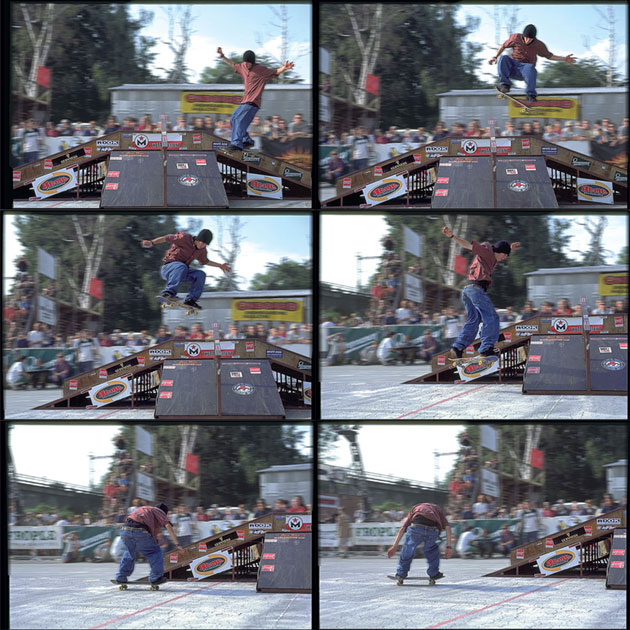Tom Penny, nollie 360.