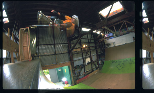 Bob Burnquist, Switch Tailgrab to Fakie