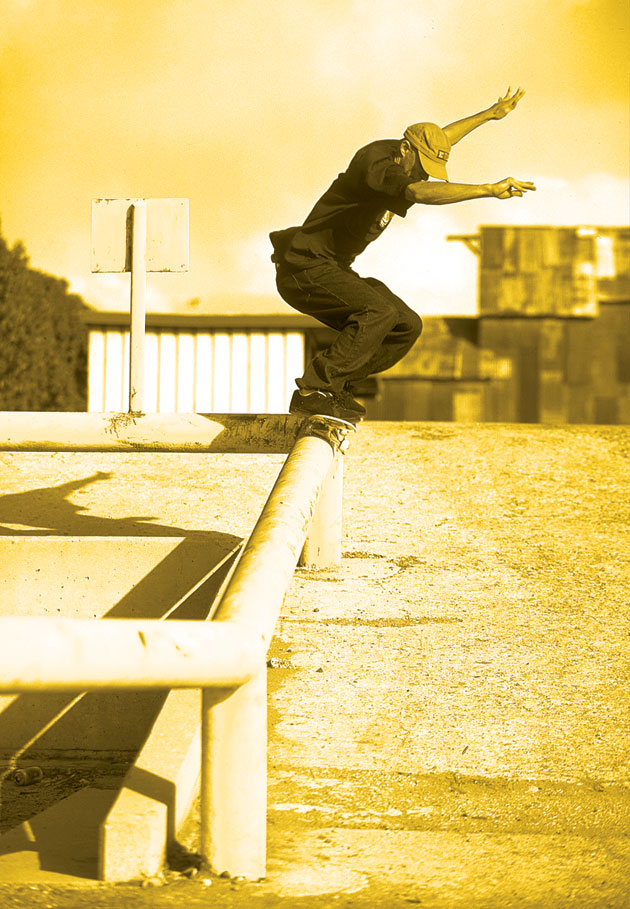 Sal Barbier, Backside 50-50
