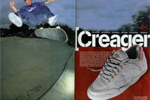 Ronnie Creager, February 1999