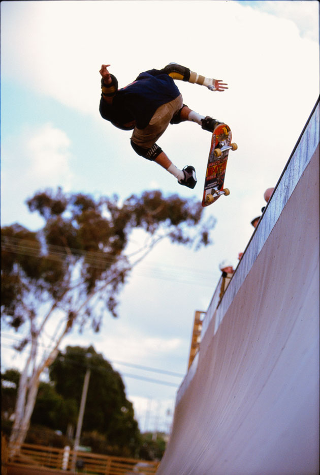 Bob Burnquist, Rolling Stone's Athlete of the Year, 1999