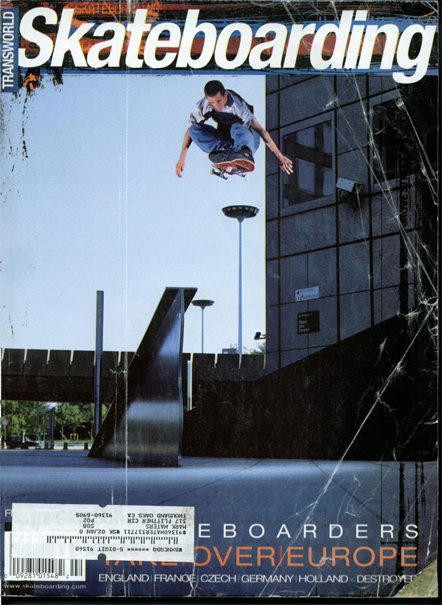 Rick McCrank, TransWorld Skateboarding, February 2000.