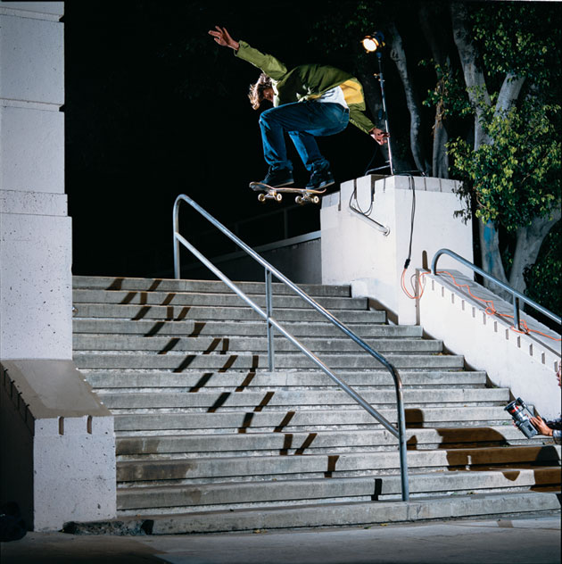 Arto Saari switch back 180 over rail