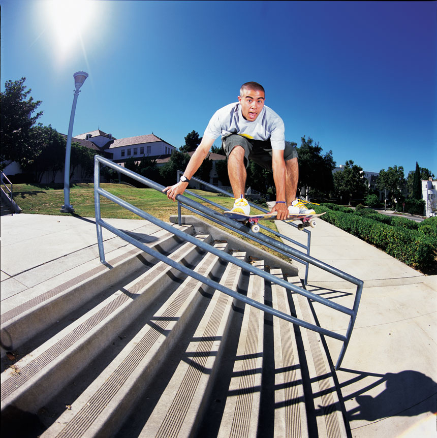 2001: Welcome, Paul Rodriguez / Skateboarding Starts With ...