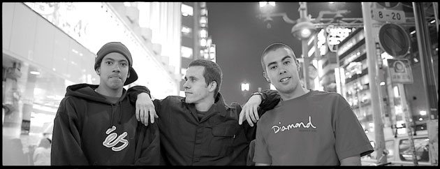 Rodrigo Teixeira, Rick McCrank, and Eric Koston