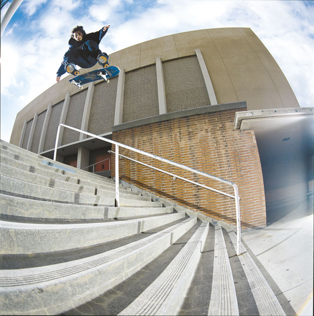 Paul Rodriguez switch heel