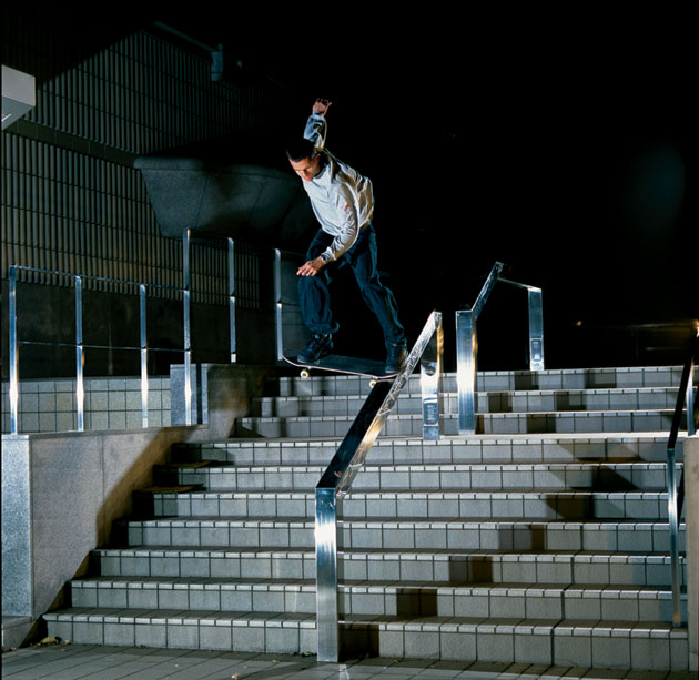 Rick McCrank gap to noseslide