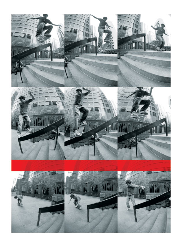 Koston always crushes it: nollie back noseblunt.