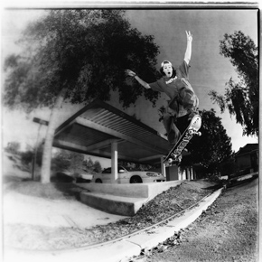 Mike Taylor enjoys skateboarding