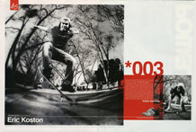 Eric Koston - ad Apr 2003