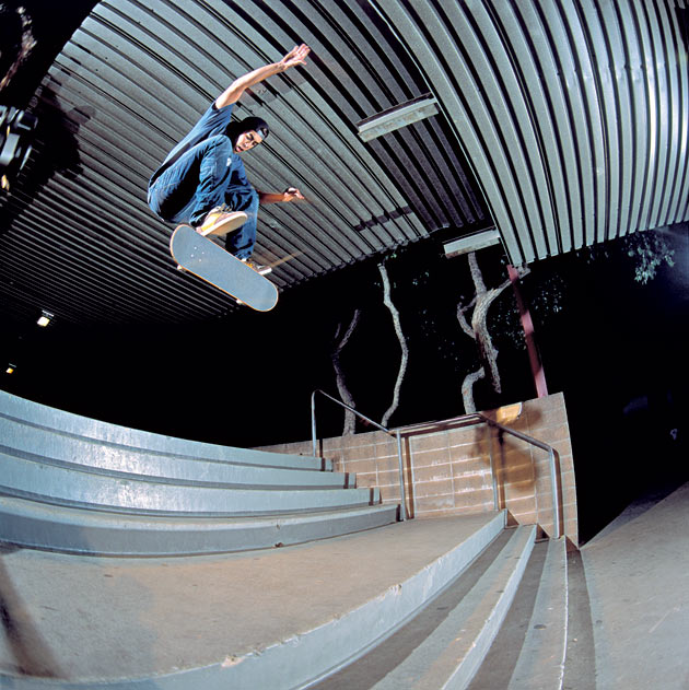 Eric Koston switch front-heel