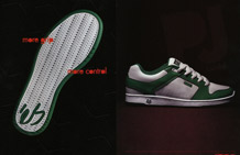 P.J. Ladd's debut shoe - ad April 2006