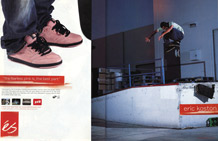 Eric Koston - ad January 2006