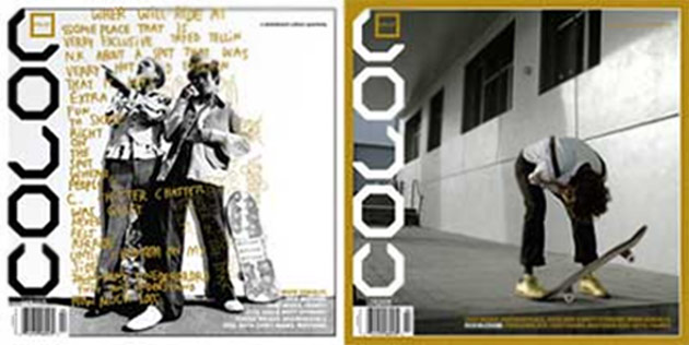 Rick McCrank freaks out on the cover of Color.