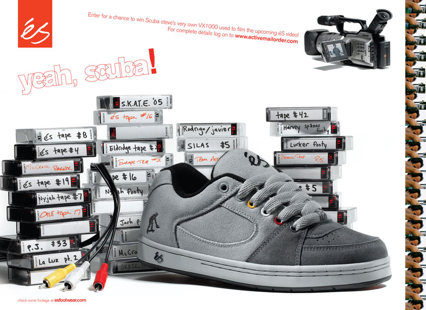 2007  éSpecial!   Skateboarding Starts With éS Timeline 17c45aa68a