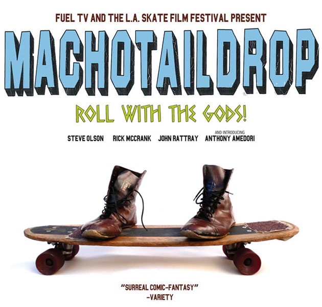 Machotaildrop: Roll With The Gods!